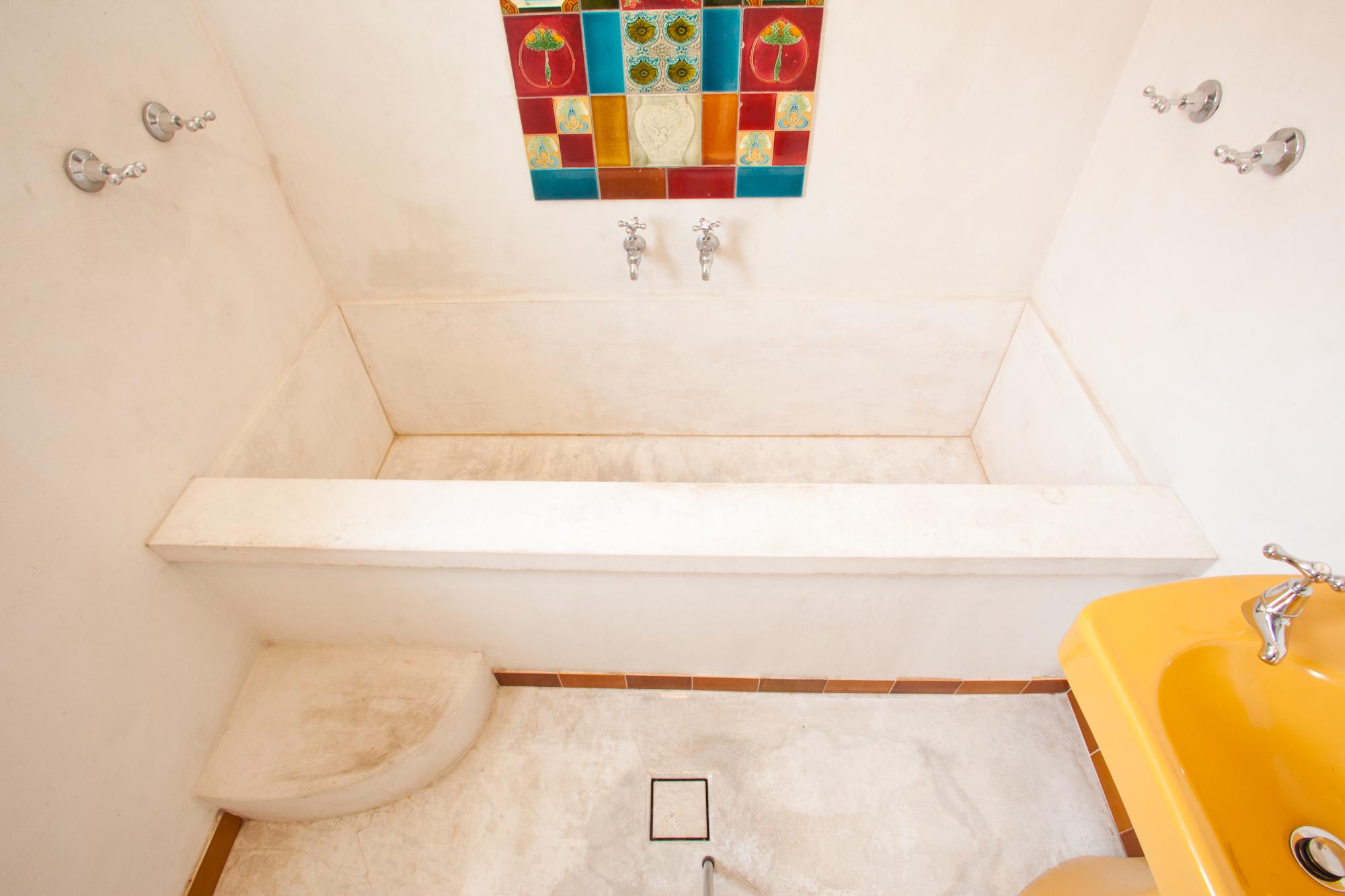 Concreate bath, concrete benchtop
