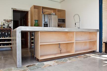 Concreate island benchtop, concrete benchtop