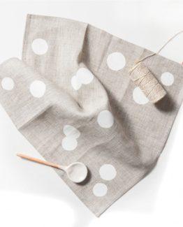 Pure linen napkin