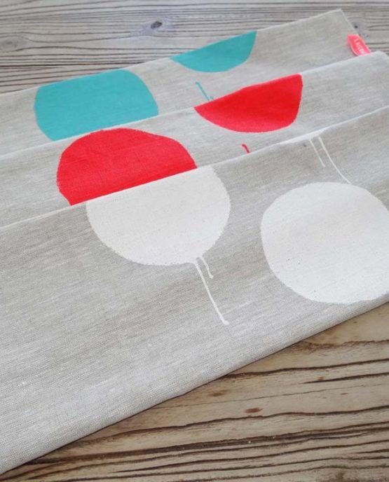 Pure linen tea towels