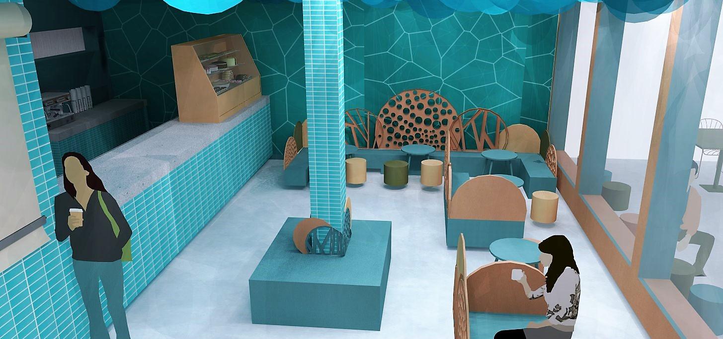 Blue Lagoon concept, Azure Interiors