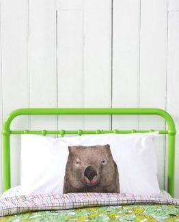 Wombat pillowcase
