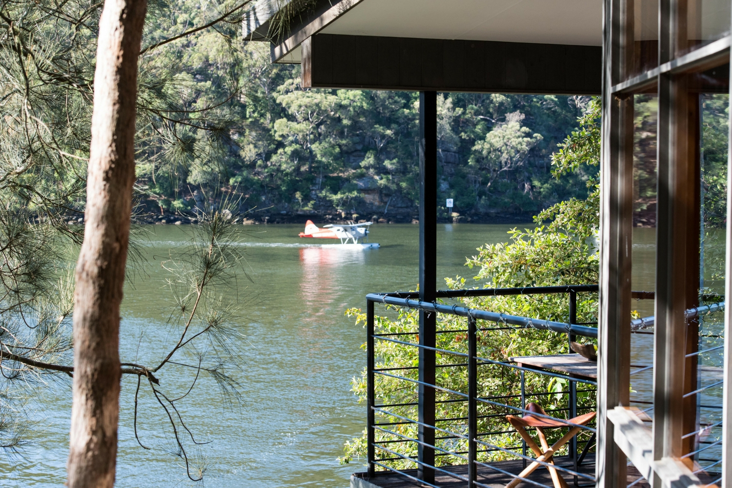 Berowra Waters escape, view
