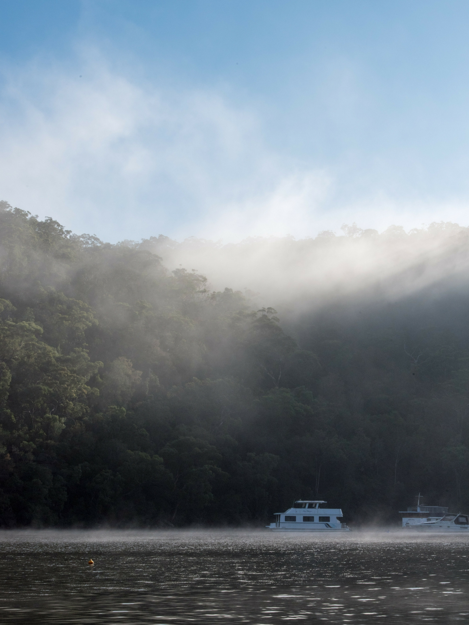 Berowra Waters river view