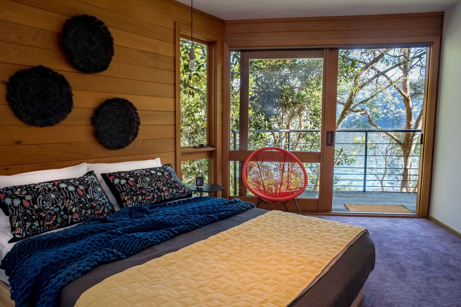Berowra Waters bedroom