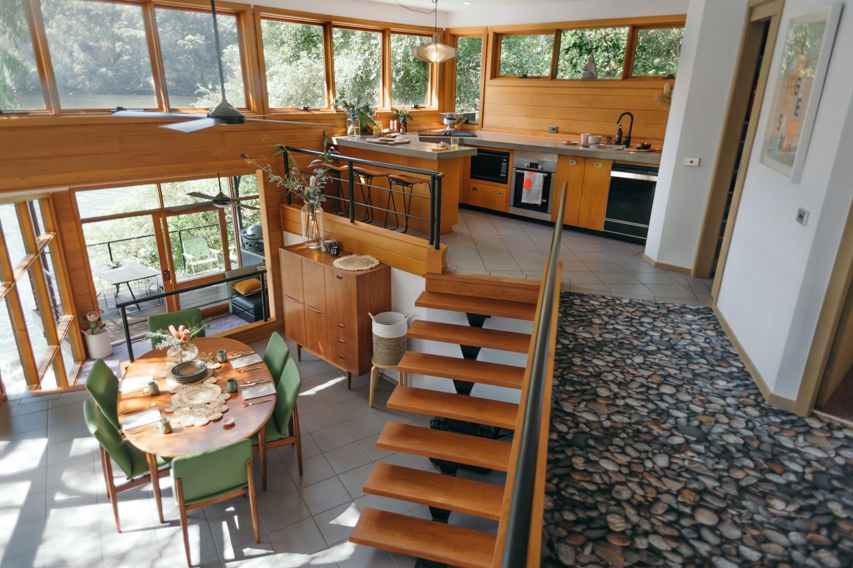 Berowra Waters Escape, holiday home, mezzanine
