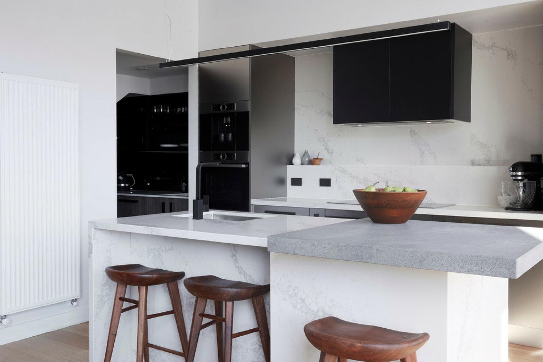 Jason & Sarah's kitchen, The Block