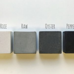 concrete sample block set
